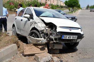 Hatalı sollama kazası