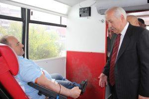 Şoförlerden kan kampanyası