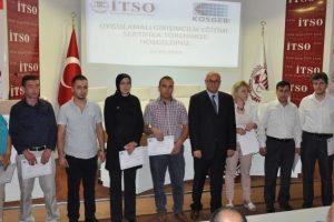 İTSO girişimcilik eğitimlerinde liderliği bırakmıyor