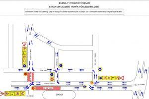 İpekiş Kavşağı'nda trafik düzenlemesi