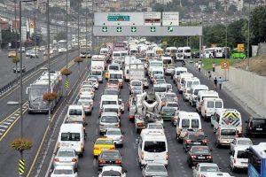 Trafikte kaç araç var?
