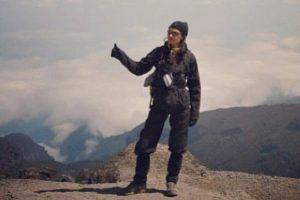 Merve Büyüksaraç Kilimanjaro'ya tırmandı