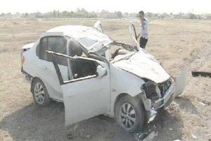 Kaza yapan otomobilden esrar çıktı