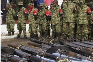 Kolombiya'nın ikinci büyük örgütü silah bıraktı