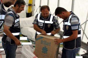 Kaçak sigaralar polise takıldı