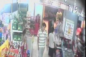 Marketteki bıçaklama, güvenlik kamerasında
