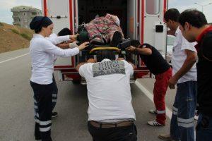 Obez ambulansında teknik arıza