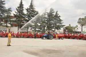 Orman yangınlarına su tankeri önlemi