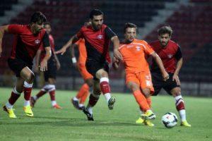 Gaziantepspor hazırlık maçında mağlup oldu