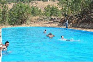 Hakkari'ye olimpik havuz geldi