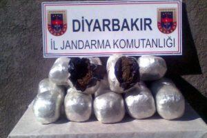 Diyarbakır'da büyük vurgun