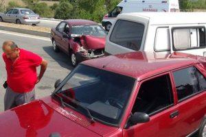 Bartın'da zincirleme kaza: 1 yaralı