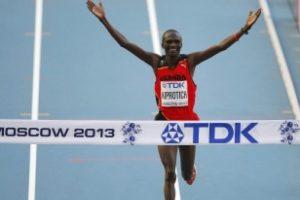Maraton'da altın madalya Kiprotich'in