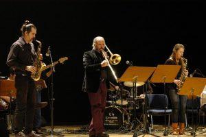 Fatih Erkoç ve Avrupa Caz Okulu'ndan kardeşlik konseri