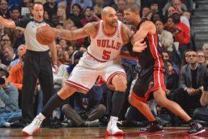 Bulls, Miami Heat'e fark attı