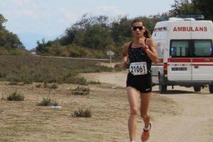 Bursa Karacabey Longoz Maratonu çekişmeli geçti
