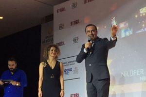 En başarılı festival ödülü Bursa Nilüfer'in