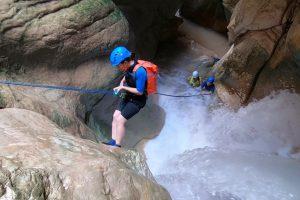 Harmankaya Kanyonu Bursalı dağcıları büyüledi