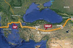 TANAP ve TAP Yunanistan sınırında birleşti