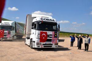 Türk Diyanet Vakfı ve Malezya işbirliği ile İdlib'e yardım