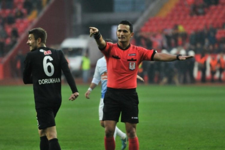 Bursaspor-Balıkesirspor maçının hakemi belli oldu
