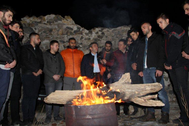 Erzurum'da Tarihi Aziziye ve Mecidiye Tabyalarında Ecdada Saygı Nöbeti ile ilgili görsel sonucu