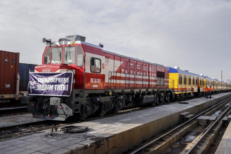 10 Vagonlu Konaklama Treni Elazig Tren Gari Na Ulasti Bursada