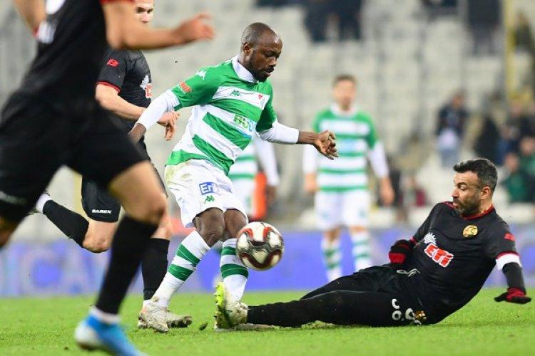 Bursaspor agresif bir görüntü çiziyor!