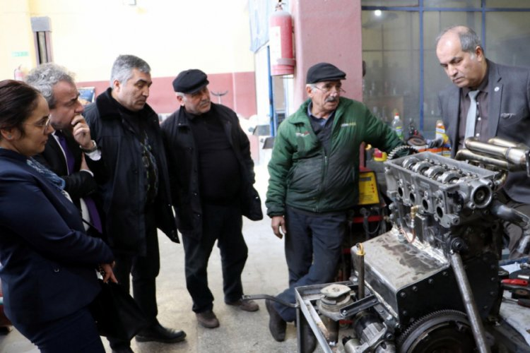 Bakanlık, kare pistonlu araç motoru tasarlayan Halit Avcıoğlu ile temasa geçti