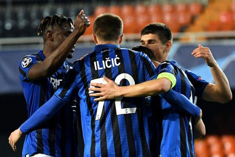 Valencia'yı eleyen Atalanta çeyrek finalde