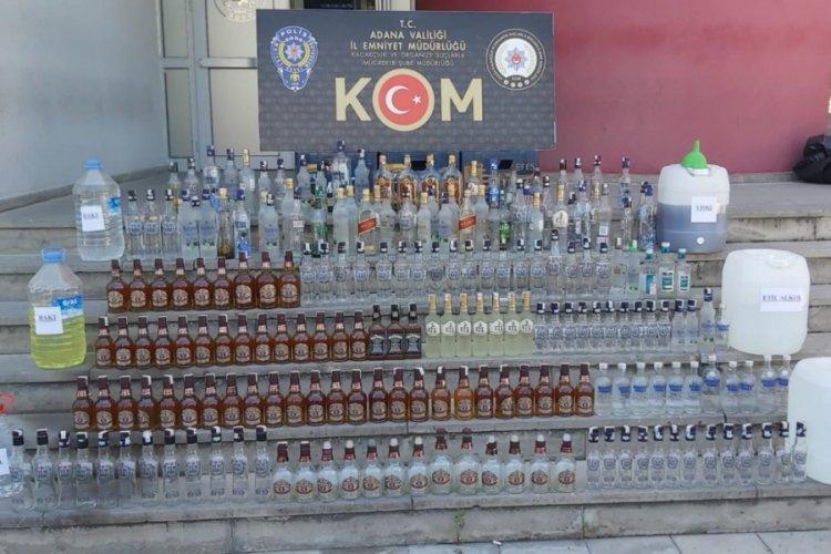 Adana'da kaçak ve sahte içki operasyonu - Bursada Bugün - Bursa ...