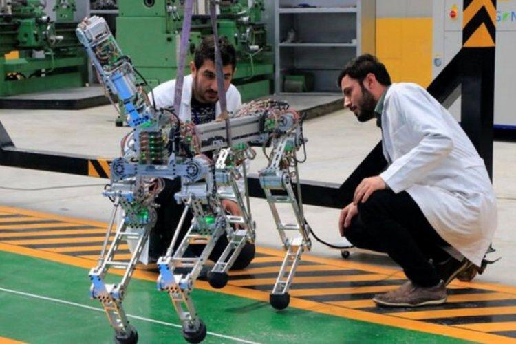 4 ayaklı robot insanlar için tehlikeli işlerde kullanılacak