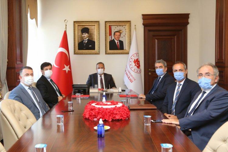 Bursa'da mesleki eğitim için işbirliği protokolü