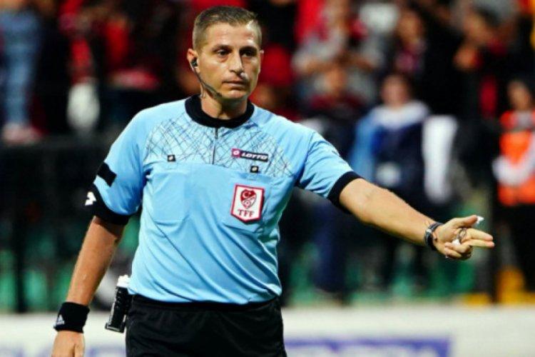 Hatayspor-Bursaspor maçının hakemi belli oldu