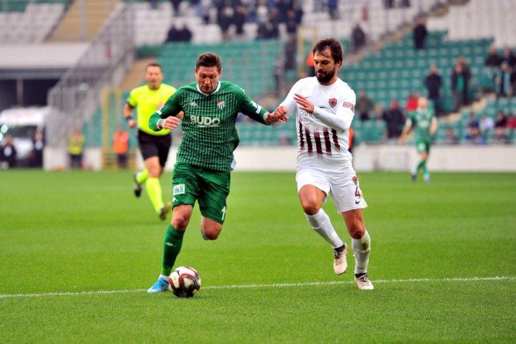Bursaspor, Hatayspor deplasmanında!