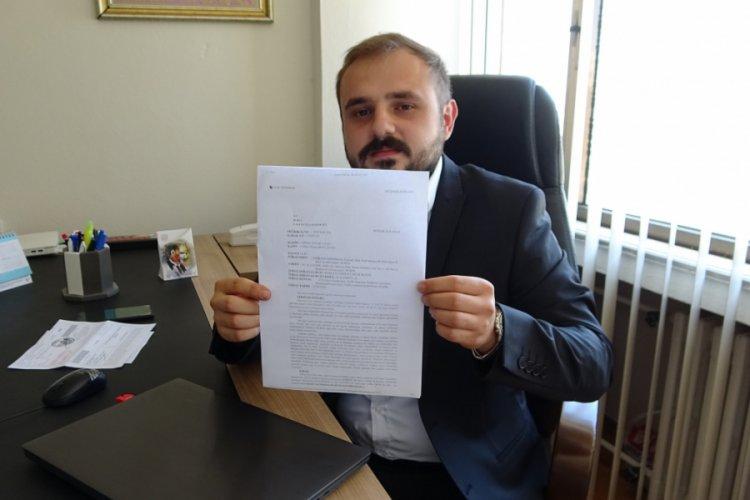 Bursa'da haksız yazılan cezanın peşini bırakmadı, iptal ettirdi