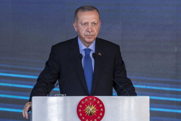 Cumhurbaşkanı Erdoğan, ilk yerli güneş paneli fabrikasının açılışında konuştu