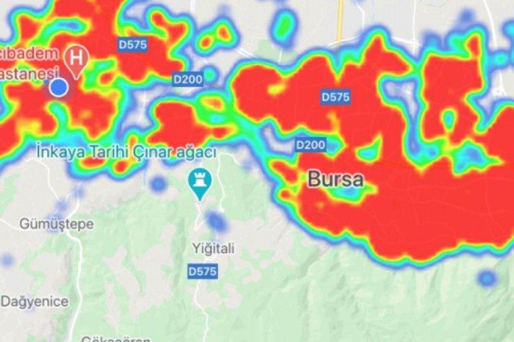İşte Bursa'nın koronavirüs yoğunluk haritasında son durum! (ÖZEL HABER)