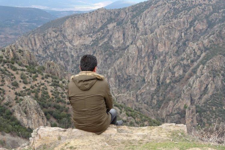 Bursa'da doğal seyir terası manzarasıyla hayran bırakıyor