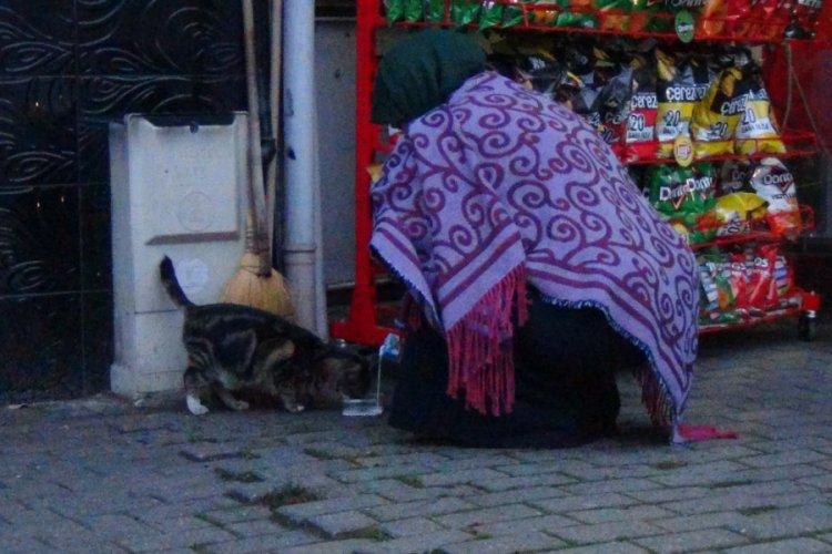Bursa'da yürekleri ısıtan görüntü