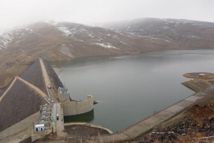 Alparslan barajlarındaki su yüksek seviyelerde seyrediyor
