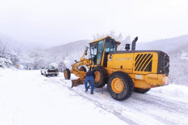 Bursa'da kar seferberliği