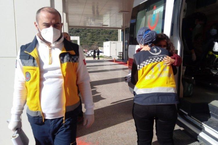 Bursa'da kafa kafaya çarpıştılar: 4 yaralı