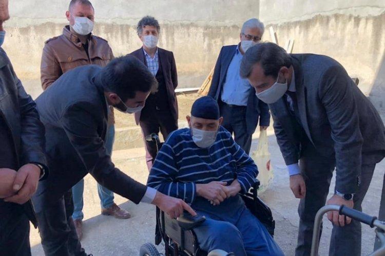 """Bursa Gürsu Belediye Başkanı Işık: """"Engelli vatandaşlarımızın maddi, manevi yanlarında olmaya çalışıyoruz"""""""