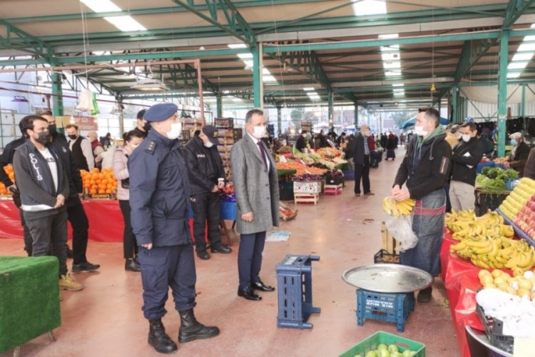 Bursa Orhangazi'de 'dinamik denetim' için ekipler sahada