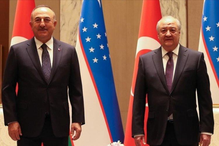 Bakan Çavuşoğlu Özbek mevkidaşı ile görüştü