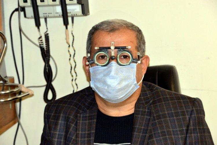 Koronavirüs yüzünden görme yetisini kaybetti