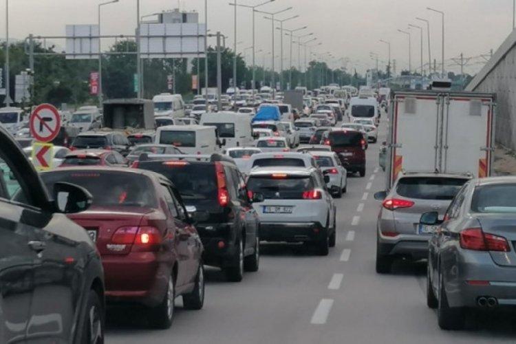 Bursa'da Acemler'den geçen araç sayısında büyük artış!