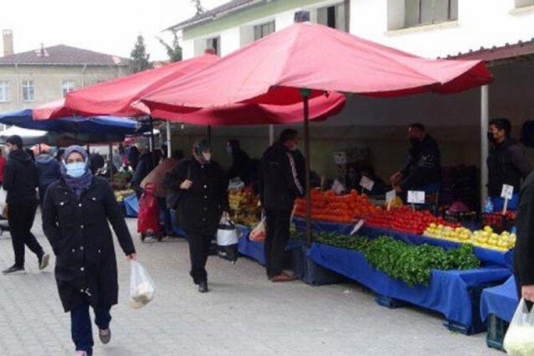 Vakalar artınca halk pazarı süresiz kapatıldı