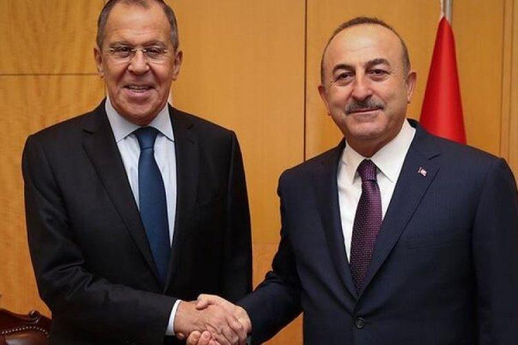Bakan Çavuşoğlu ile Lavrov yarın görüşecek
